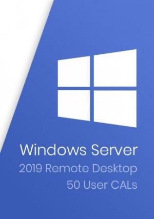 Windows Server 2019 Remote Desktop - 50 User CALs