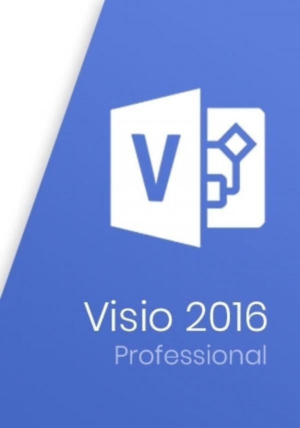 Microsoft Visio Professional 2016 Key
