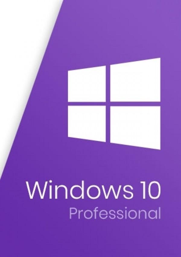 Microsoft Windows 10 Pro Professional 32/64-Bit